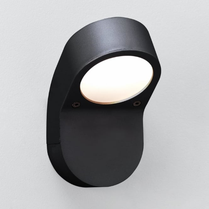 Astro Soprano GX53 IP44 Exterior Wall Light in Black