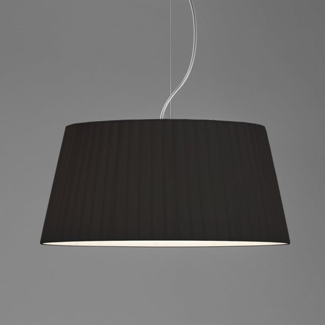 Astro Tag 500 Pleated Fabric Shade in Black