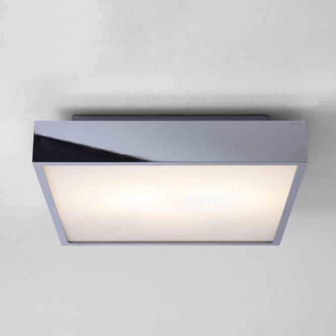 Astro Taketa IP44 Bathroom Ceiling Light in Polished Chrome