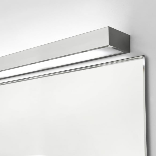 Astro Tallin 900 Bathroom Wall Light in Chrome with a White Glass Diffuser