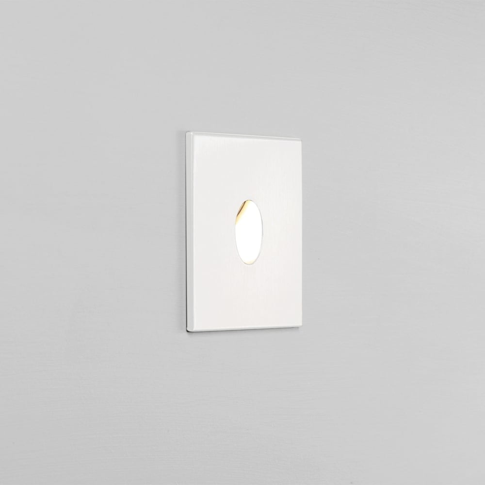 Astro Recessed Wall Lights : Astro Lighting 7522 Tango White IP65 LED 2700K Recessed Wall Light