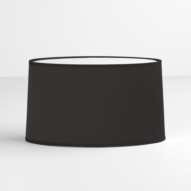 Astro Tapered Oval Shade in Black
