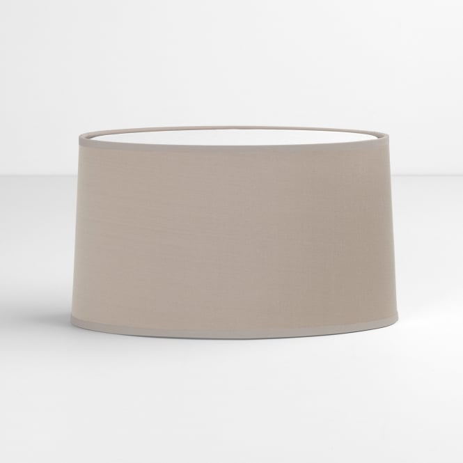 Astro Tapered Oval Shade in Putty