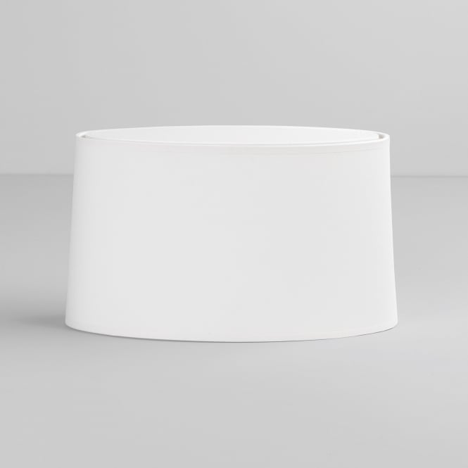 Astro Tapered Oval Shade in White