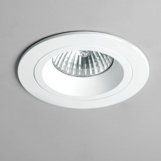 Astro Taro GU10 White Round Fixed Downlight