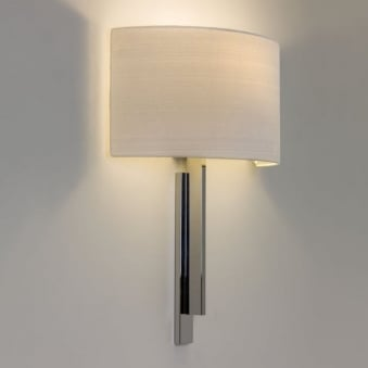 Tate Wall Light in Polished Chrome