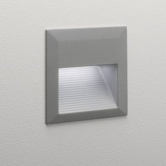 Tecla LED IP44 Exterior Recessed Wall Light