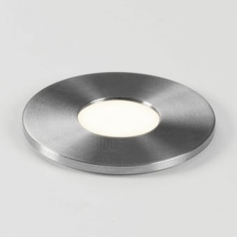 Terra 28 LED Round IP65 Steel Floor or Wall Light