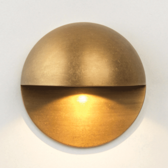 Tivoli LED Antique Brass IP65 Exterior Wall Light