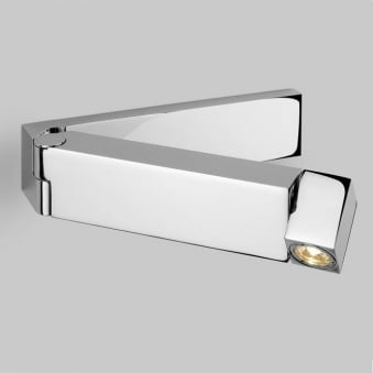 Tosca Switched LED Wall Light in Polished Chrome