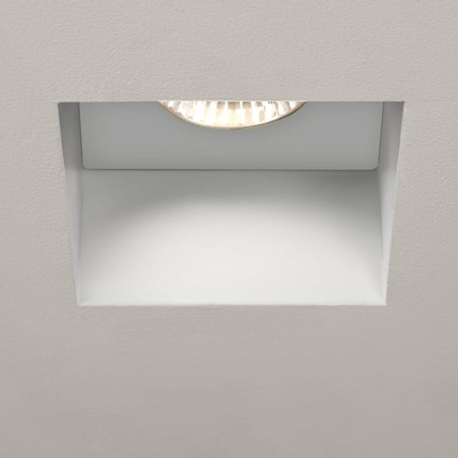 Astro Trimless 230v IP65 Fixed Square Fire Rated Downlight