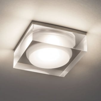 Vancouver 90 Square LED IP44 Bathroom Downlight