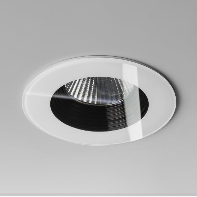 Astro Vetro LED Fire Rated IP65 Bathroom Downlight in White