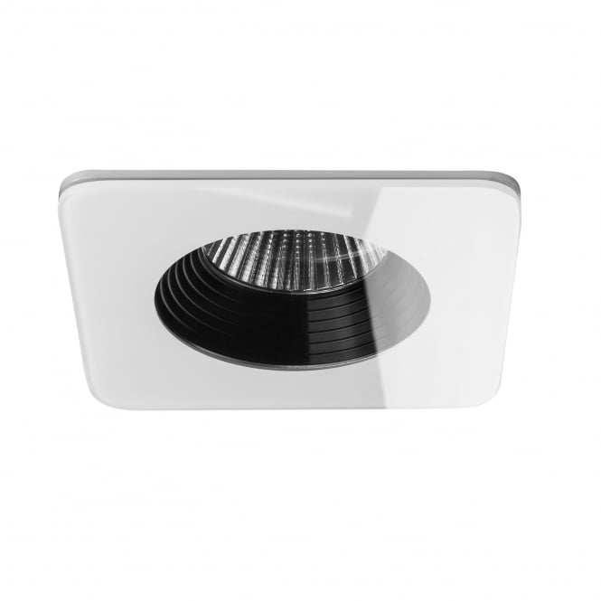 Astro Vetro LED IP65 Square White Bathroom Downlight