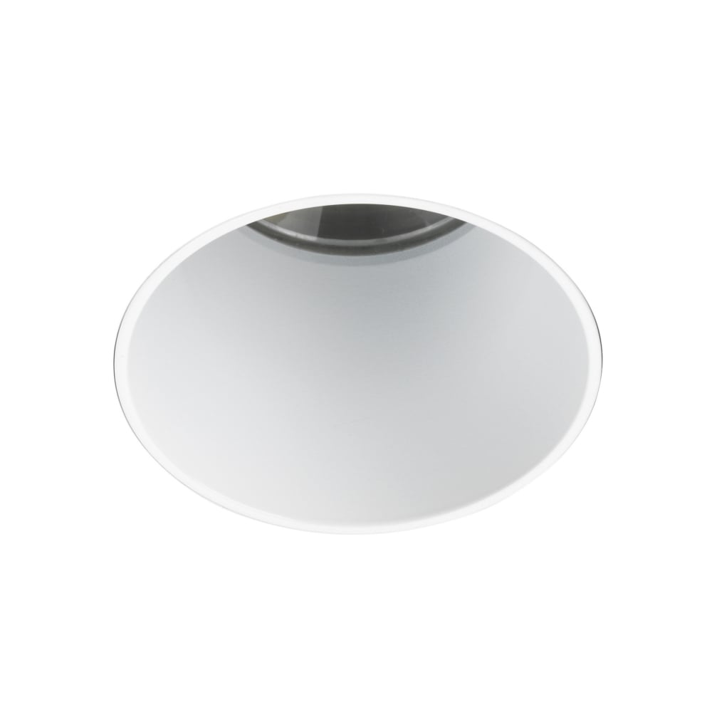 Void round 55 gu10 ip65 fire rated recessed ceiling light in white