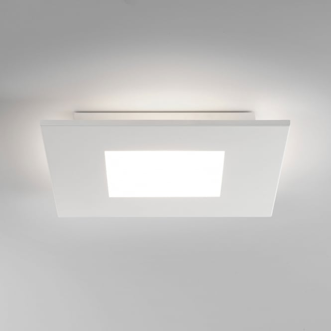 Astro Zero Square 16W LED 2700k Ceiling Light