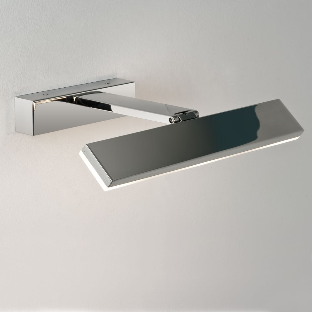 bathroom mirror chrome. Zip 3 Watt LED IP44 Chrome Bathroom Mirror Light R