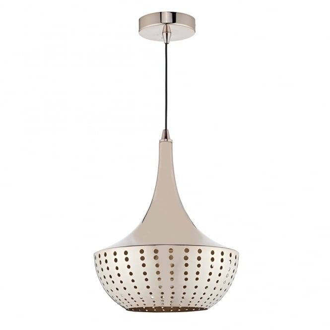 Dar Clearance **EX-DISPLAY** Dot Pendant Light in Polished Bronze