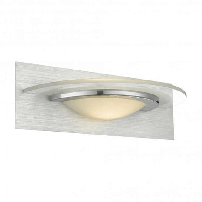 Dar Lighting Analyze LED Wall Washer in Brushed and Polished Chrome