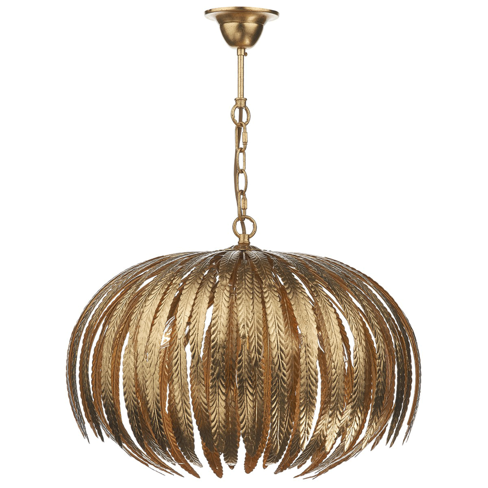 Dar lighting atticus five light pendant in gold leaf fitting type atticus five light pendant in gold leaf mozeypictures Images