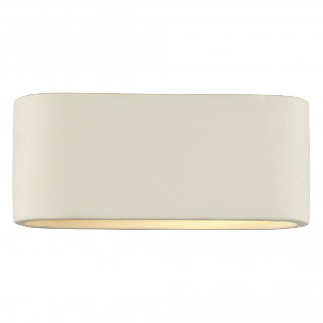 Dar Lighting Axton Ceramic Small Wall Light
