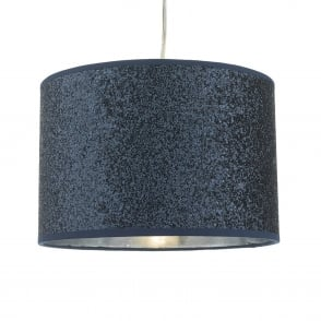 Bistro Navy Blue Glitter Easy Fit Shade