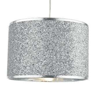 Bistro Silver Glitter Easy Fit Shade