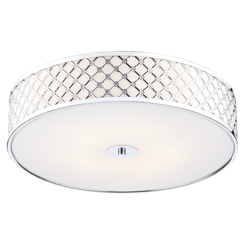 Dar lighting civic large flush ceiling light fitting type from civic large flush ceiling light aloadofball Gallery