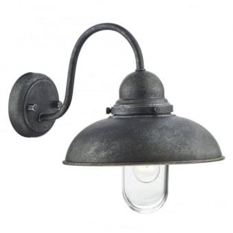 Dynamo Aged Iron Exterior Wall Light