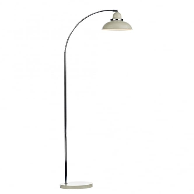 Dar Lighting Dynamo Floor Lamp in Cream