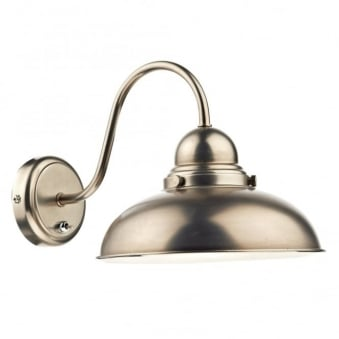 Dynamo Wall Light in Antique Chrome