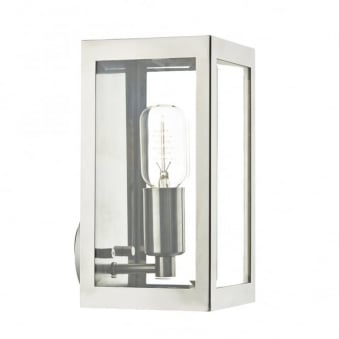 Era Exterior Wall Light in Stainless Steel