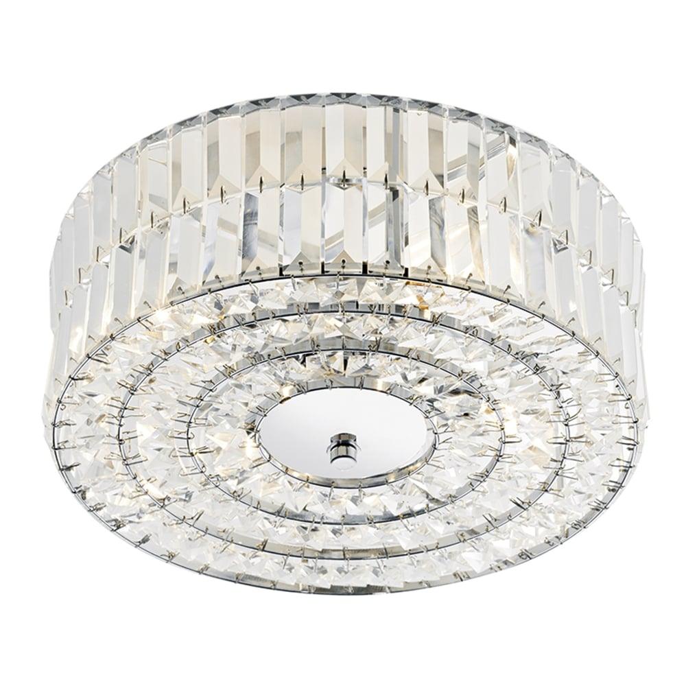 Errol 4 light semi flush ceiling light