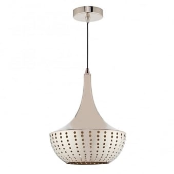 **EX-DISPLAY** Dot Pendant Light in Polished Bronze