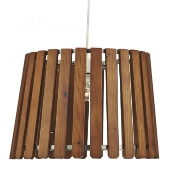 Fence Wooden Slatted Easy Fit Shade