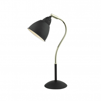 Hollywood Matt Black Table Lamp