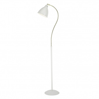 Hollywood Matt White Floor Lamp