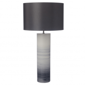 Nazare Black and White Ceramic Table Lamp Base