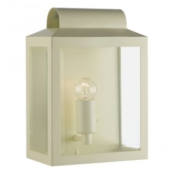 Notary Exterior Wall Light in Cream