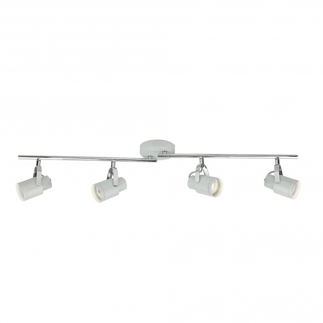Dar Lighting Orkney Four Bar Spotlights in Nordic Grey