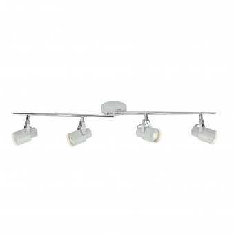 Orkney Four Bar Spotlights in Nordic Grey