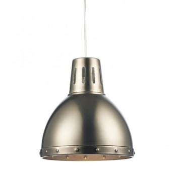 Osaka Antique Chrome Easy Fit Small Pendant Shade