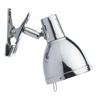Osaka Clip On Wall Lamp in Polished Chrome
