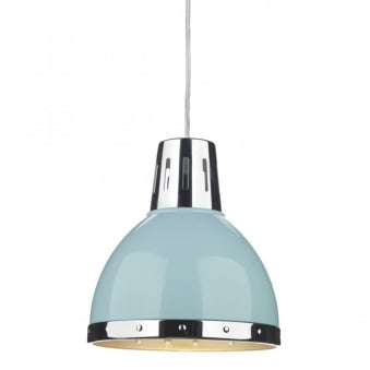Osaka Pale Blue Easy Fit Small Pendant Shade