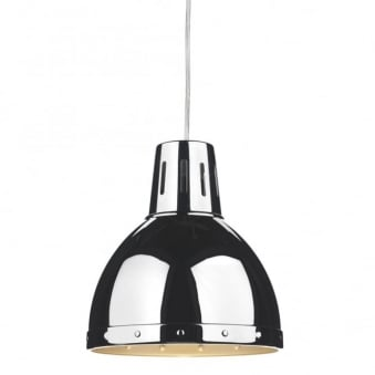 Osaka Polished Chrome Easy Fit Small Pendant Shade