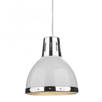 Osaka White Easy Fit Small Pendant Shade