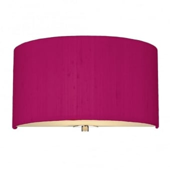 Renoir Hot Pink Silk Wall Light