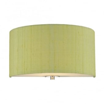 Renoir Shamrock Green Silk Wall Light