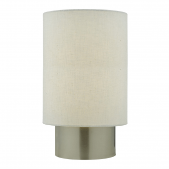 Robyn Touch Table Lamp in Satin Chrome