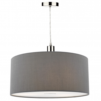 Ronda Small Pendant Shade in Slate Grey